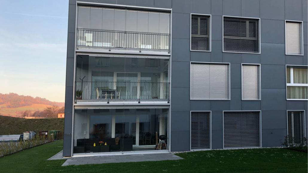 Ästhetisch bauen BIPV Fassade aus Solarmodulen