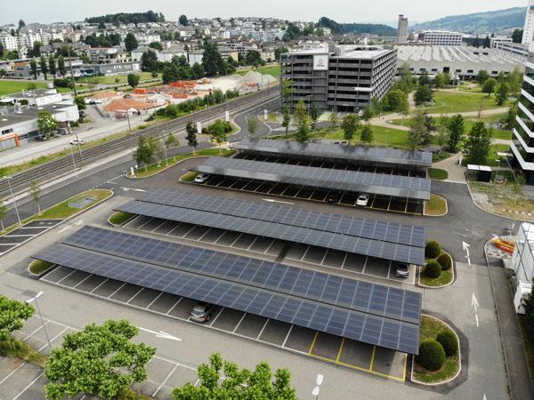 Image stärken Solar Carport