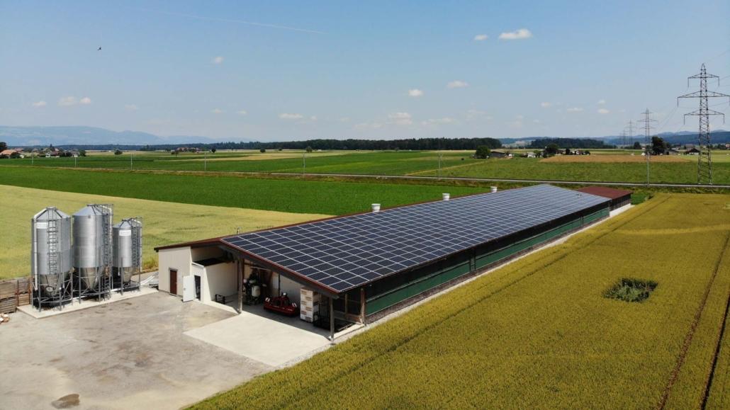 Klima und Umwelt schützen Solaranlage