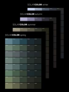 Solarcolor Solarfassade Farbfächer