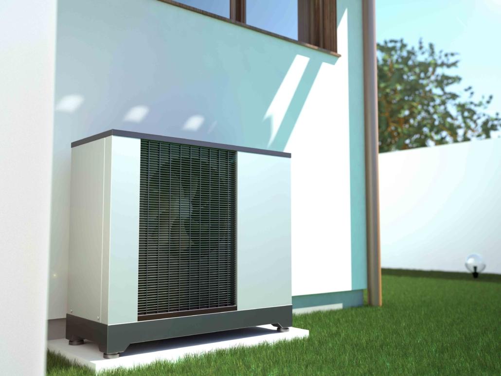 Luft-Wasser Wärmepumpe SolarApp